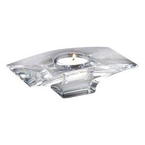 Nambe Planar Crystal Votive Tealight Candle Holder